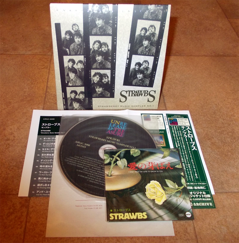 Japan Papersleeve Mini Lp Cds Strawbs Strawberry