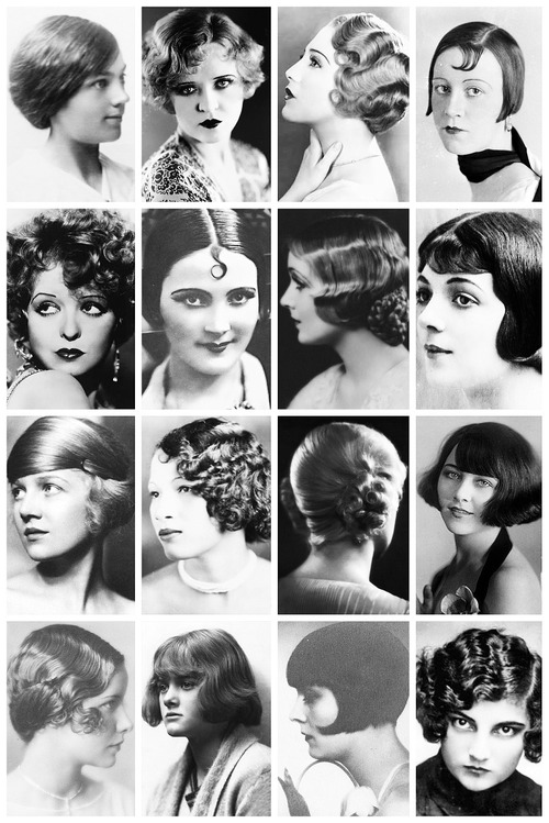 UNDER THE ROOT: oh my great gatsby, 1920s hairstyles