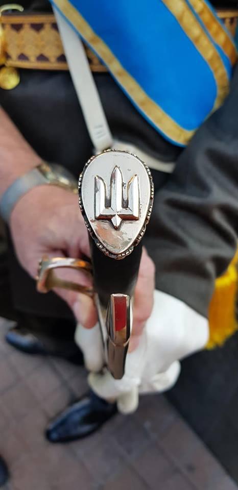 Шабля Почесної варти Збройних Сил України