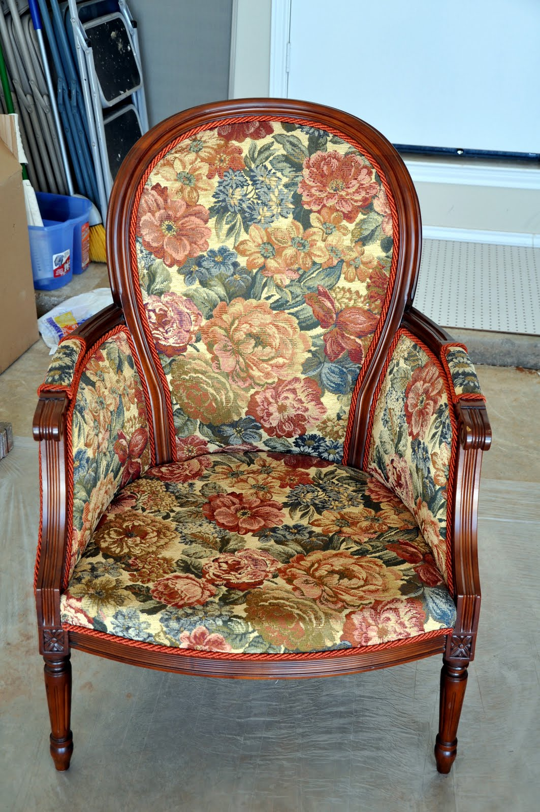 Remodelaholic The Hot Seat Chair Reupholster