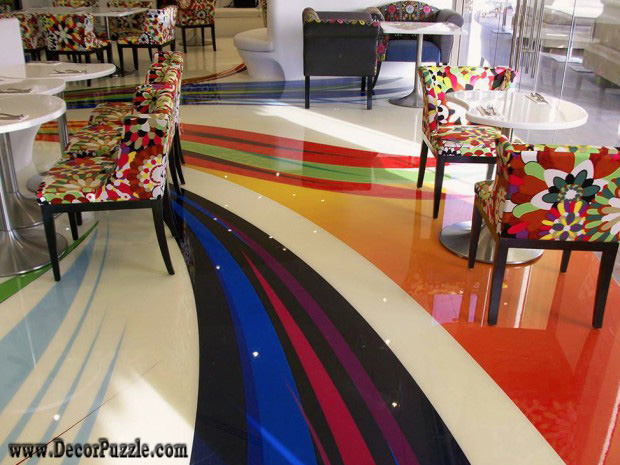 creative flooring, flooring ideas, flooring options, epoxy flooring, 3d flooring
