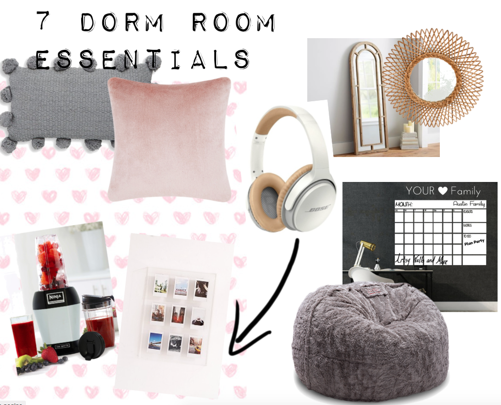 7 Dorm Room Essentials Every Student Needs