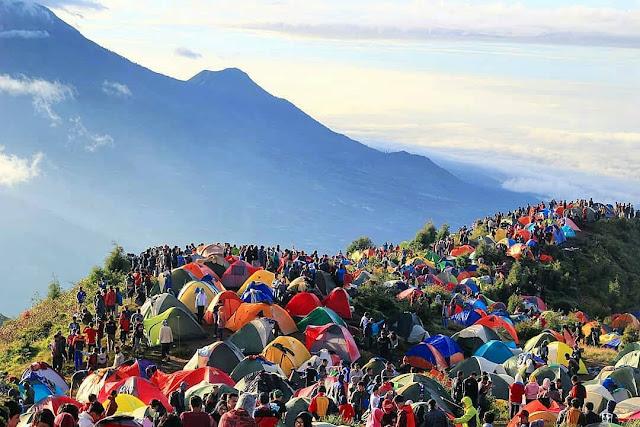 informasi pendakian gunung prau