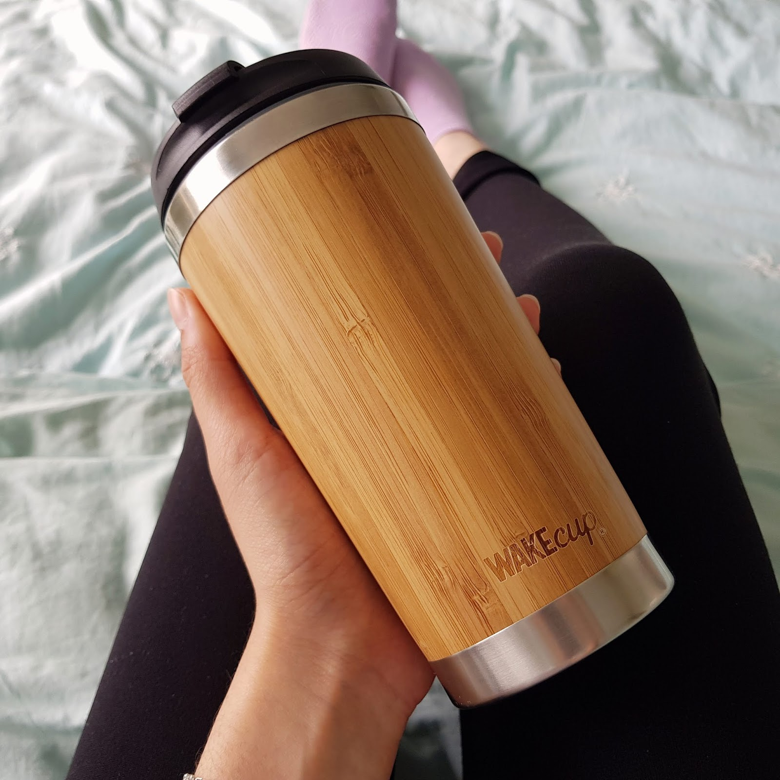 WAKEcup travel mug