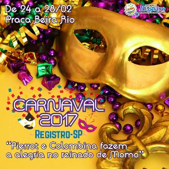 Secretaria de Cultura de Registro-SP recebe inscrições de blocos para o Carnaval 2017