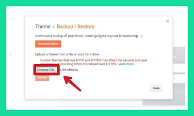 How to install custom template on Google blogger.