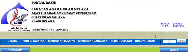Rasmi - Jawatan Kosong (JAIM) Jabatan Agama Islam Melaka Terkini 2019