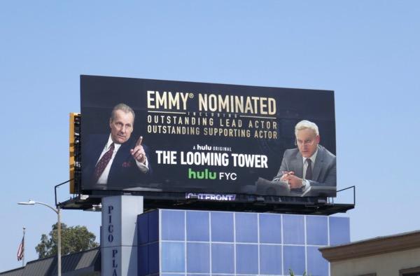 Looming Tower 2018 Emmy nominee billboard