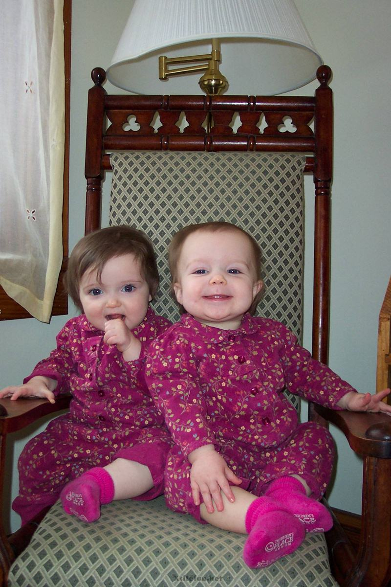 Twins People Photographs No. 7