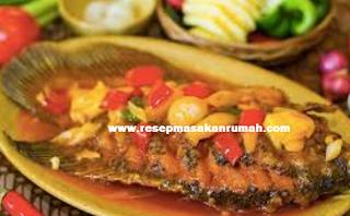 Resep Ikan Nila Asam Manis Enak Lezat dan Sederhana