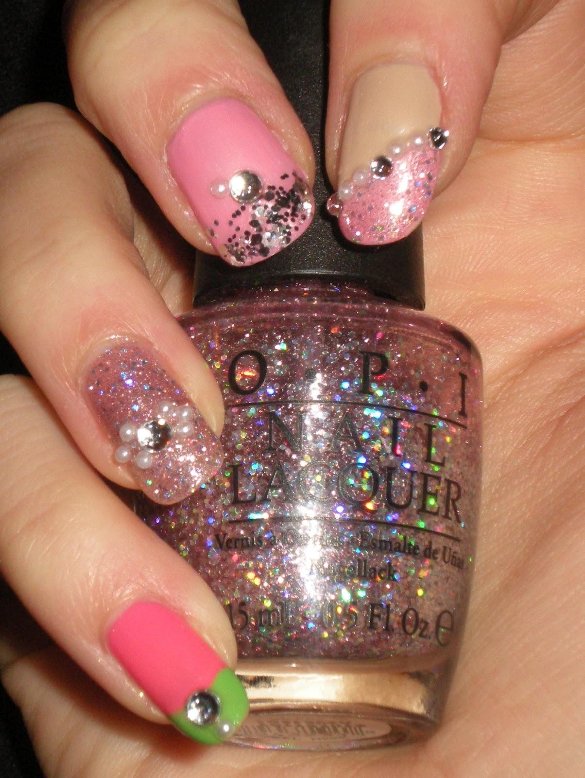 Castinails: Nicki Minaj Nail Art