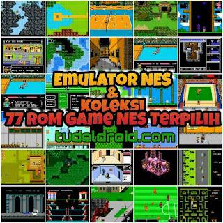 Emulator NES dan Koleksi 77 game NES Terpilih