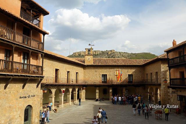 Ayuntamiento en Plaza Mayor de Albarracín, Teruel