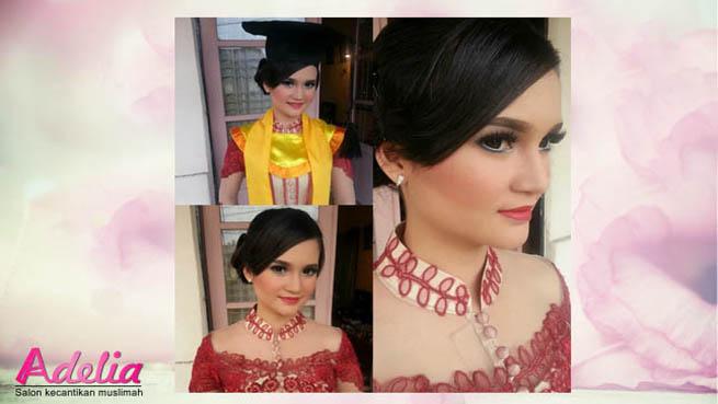 Adelia Makeup Wisuda Murah Jakarta Selatan Barat Timur