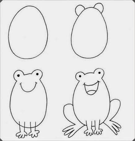 Hayvan Resimleri çizme Ve Boyama