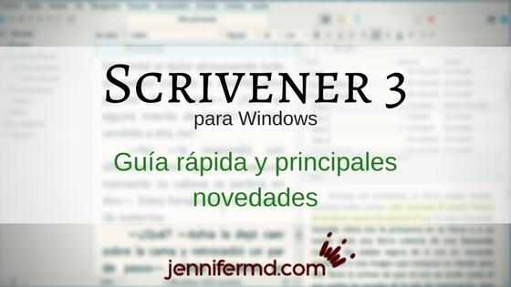 Scrivener 3 Windows: así puedes usarlo YA