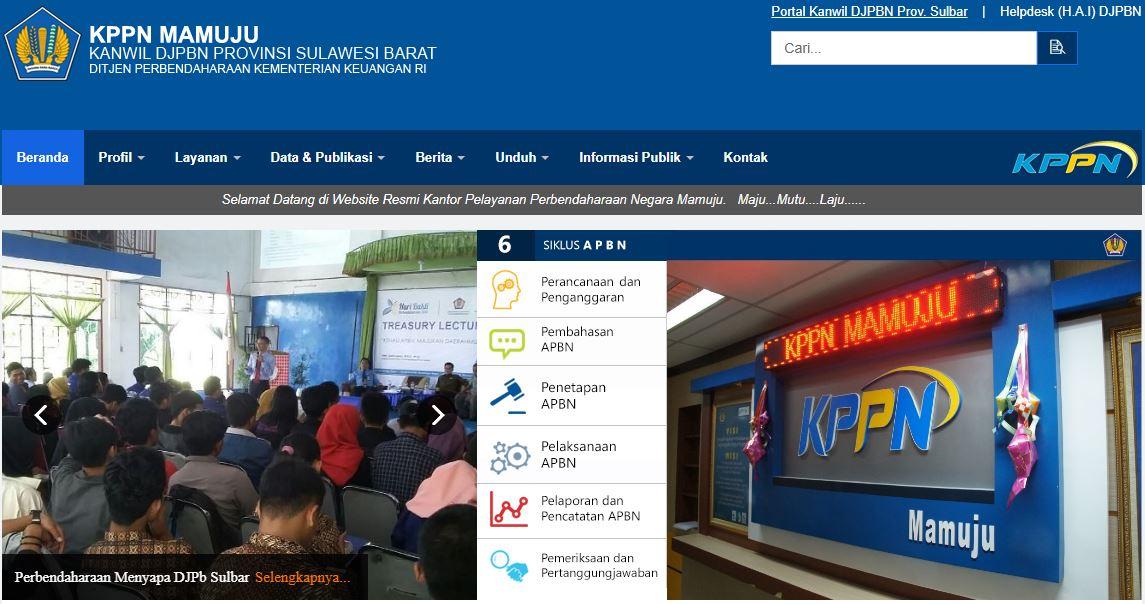Alamat Lengkap Dan Nomor Telepon Kantor KPPN Di Sulawesi Barat