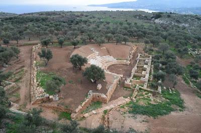 """Το Αρχαίο Θέατρο της Απτέρας """"ζωντανεύει"""""""