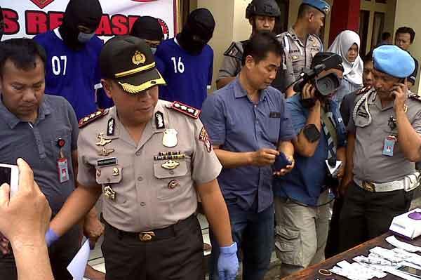 polres majalengka tangkap pengedar narkoba di lapas