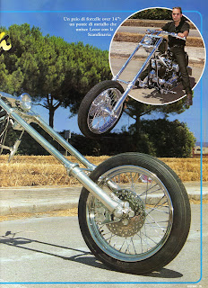 sportster chopper on freeway magazine n 44 1997