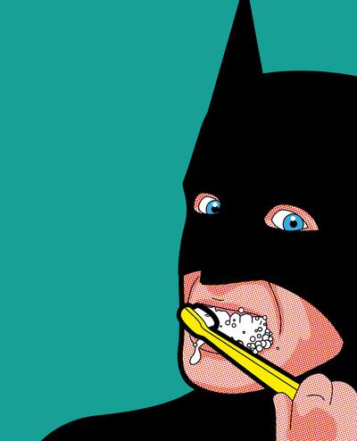 To Da Loos Brush Like A Superhero