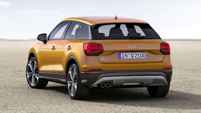 Compact with a Capital Q – the new Audi Q2