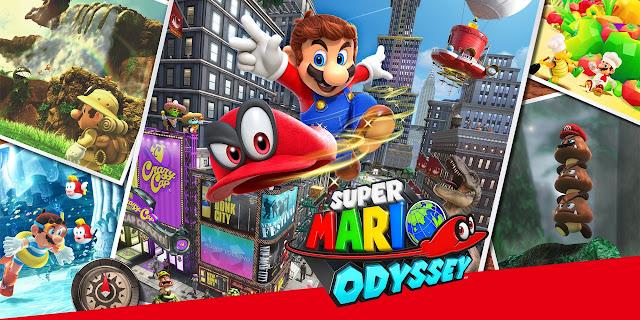 بالفيديو أحد اللاعبين ينجح في إنهاء لعبة Super Mario Odyssey بزمن قياسي جدا