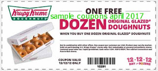 Krispy Kreme coupons april