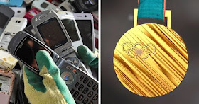 My Crazy Email: Japan is making Olympic medals out of old