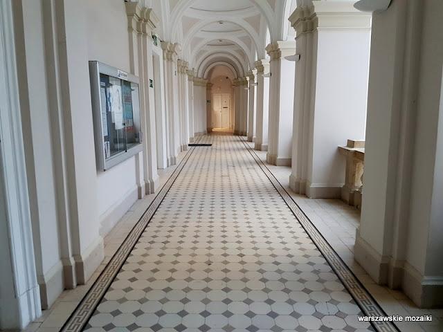 Warszawa Warsaw gmach główny Stefan Szyller uczelnia
