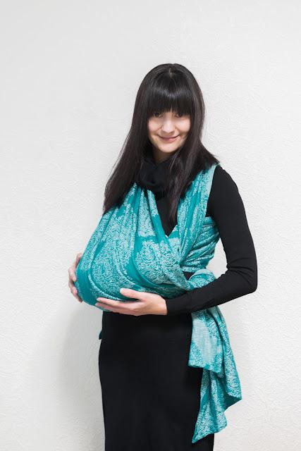 Слинг-шарф. Колыбелька.