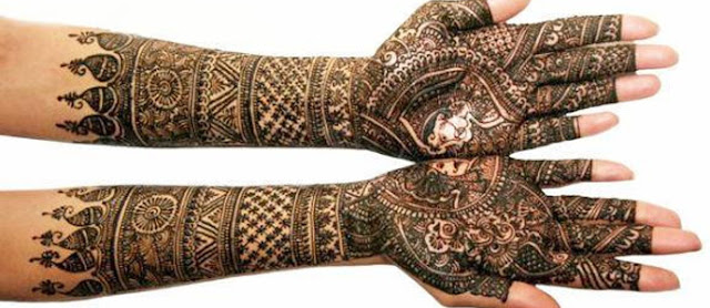 Mehndi Design For Indian Bridal