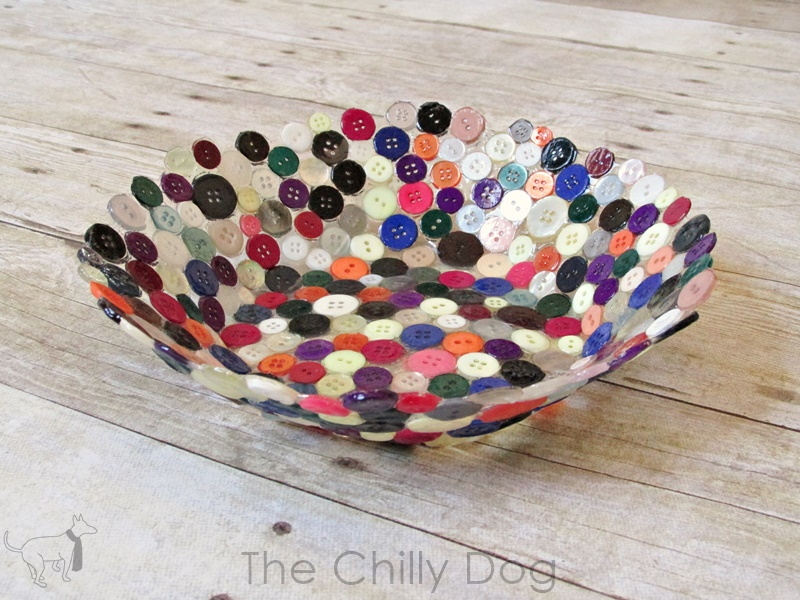 Craft Fail Button Bowl The Chilly Dog
