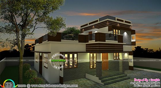 East facing Kerala home