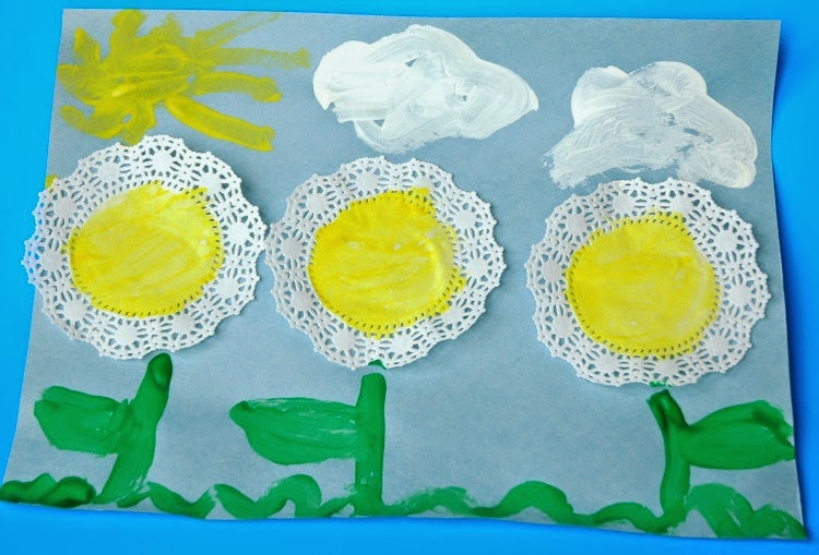 Spring Flower Craft for Toddlers and Preschoolers
