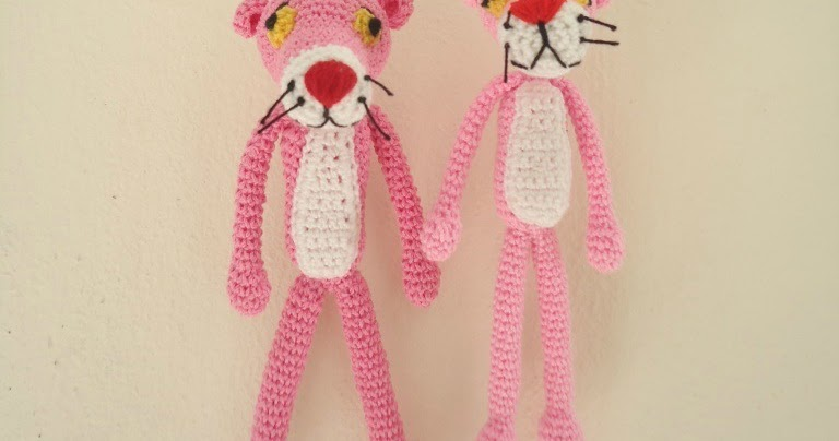 Amigurumi Free Pattern Pink Panther : Dinah Crochet: Amigurumi Pink Panther