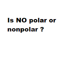 Is NO polar or nonpolar ?