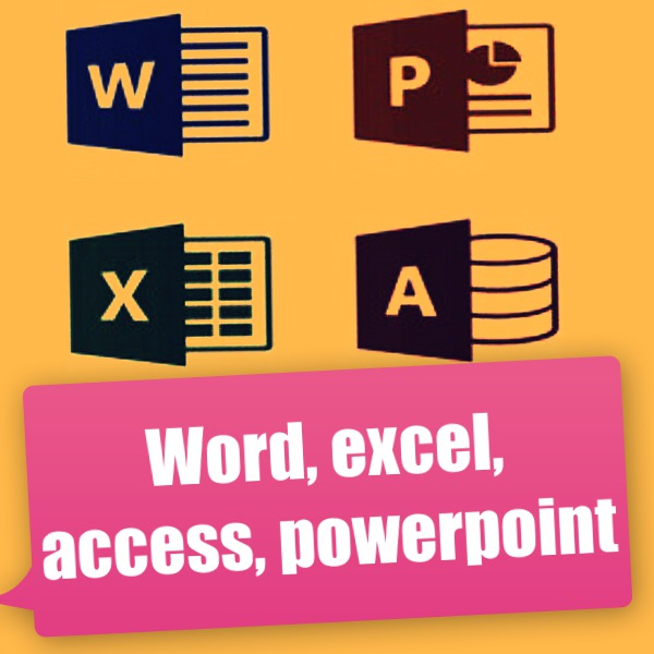 Word,excel,access,powerpoint