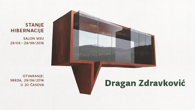 """Izložba Dragana Zdravkovića """"Stanje hibernacije"""""""