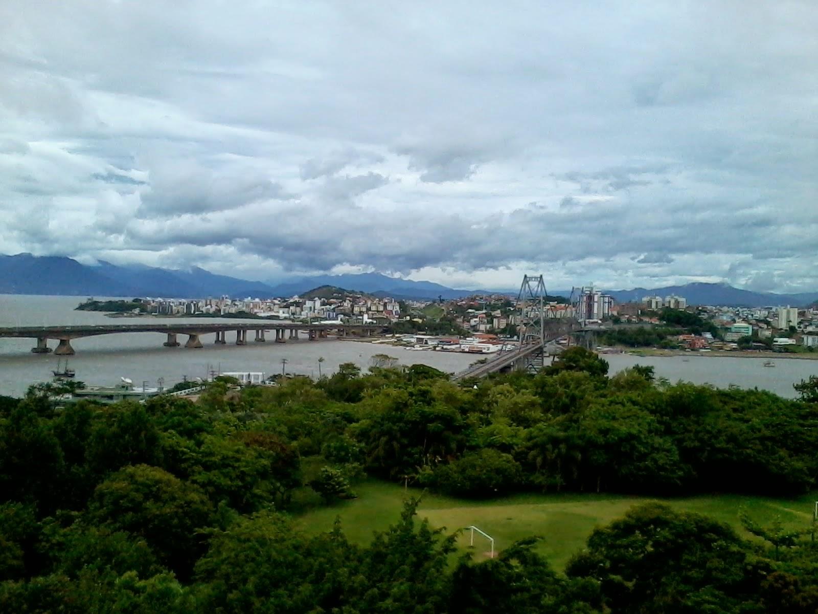 Ponte Hercílio Luz - Florianópolis - Santa Catarina - Brasil
