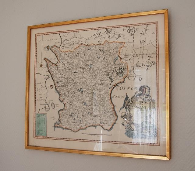 Karta Skane Tavla.Matilda Skanekarta Pa Vaggen