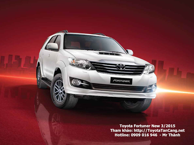 toyota fortuner 2015 phien ban moi toyota tan cang 1 - So sánh Toyota Innova và Fortuner: Lựa chọn nào cho xe 7 chỗ ? - Muaxegiatot.vn