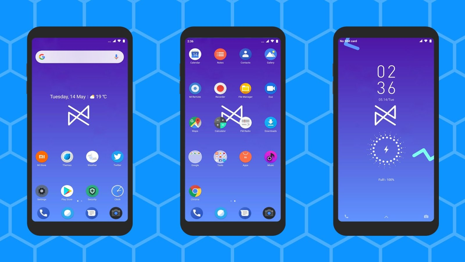 Android Q PRO_DWM19 theme for miui users