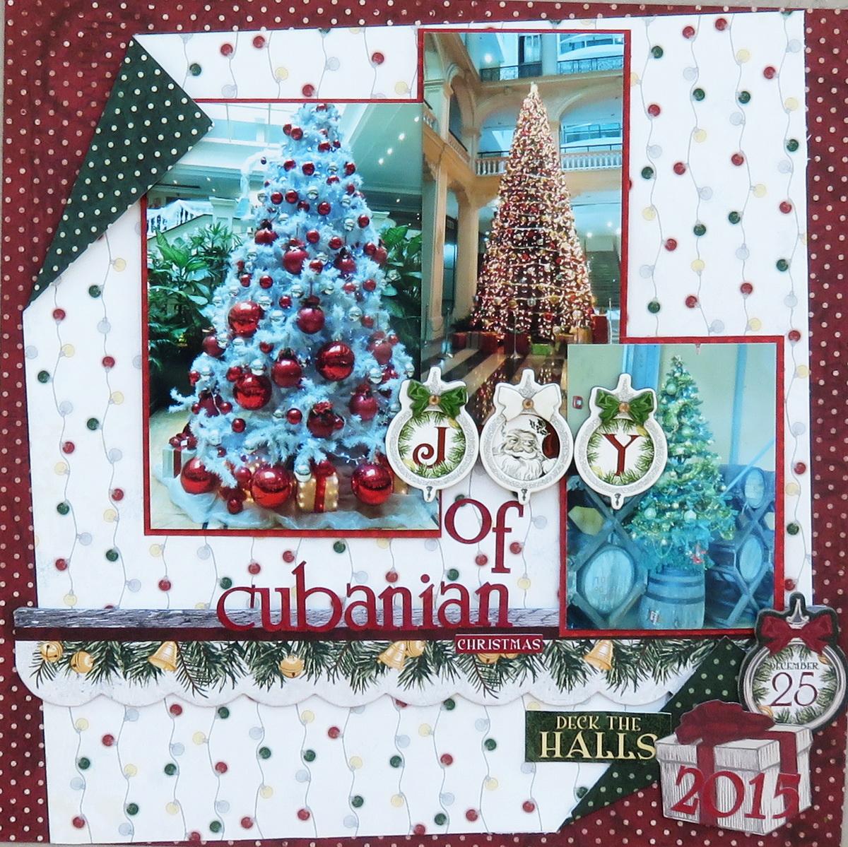 BoBunny Merry and Bright Combo Sticker 12x12 sheet Bo Bunny new  Christmas 2016