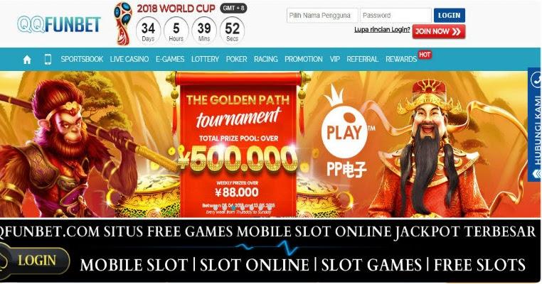 Qqfunbet.com Situs Mobile Game Terpercaya