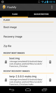 apkcrot2: Flashify (for root users) 1 1 6