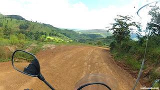 Sempre belas paisagens no Caminho dos Diamantes - Estrada Real.