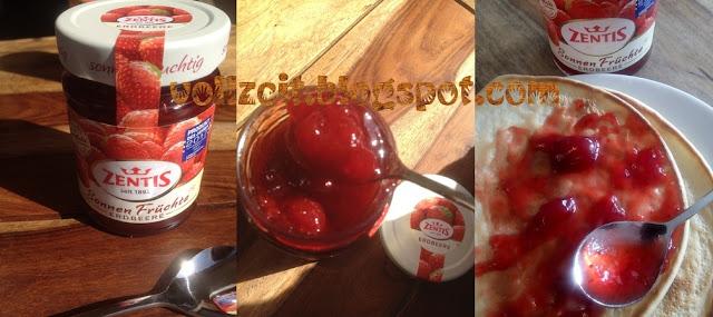 ganzen früchten  frische aromatische erdbeeren