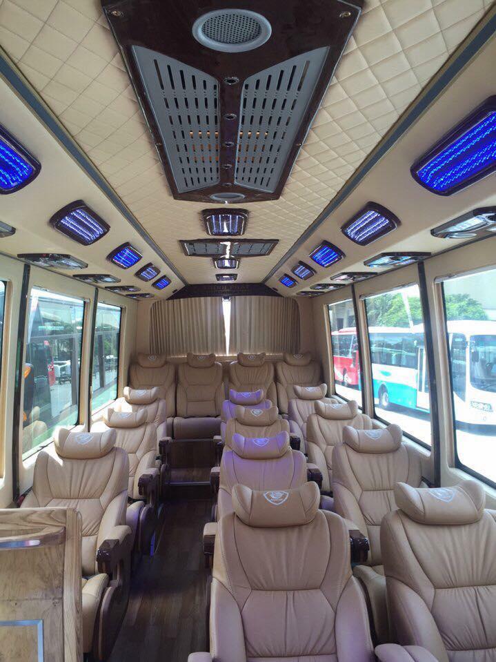 Đi SG - Đà Lạt êm ái nhất với 11 hãng xe Vip - Limousine sang trọng
