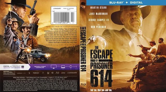 The Escape of Prisoner 614 (scan) Bluray Cover